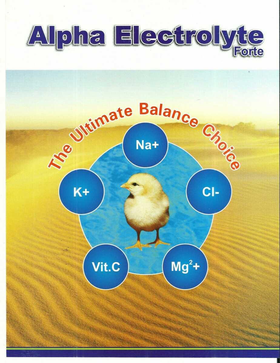 Alpha Electrolyte 5 Litre!