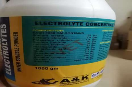 Electrolyte Concentrate.!