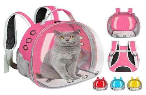 Pet Carrying Bag - Transparent!