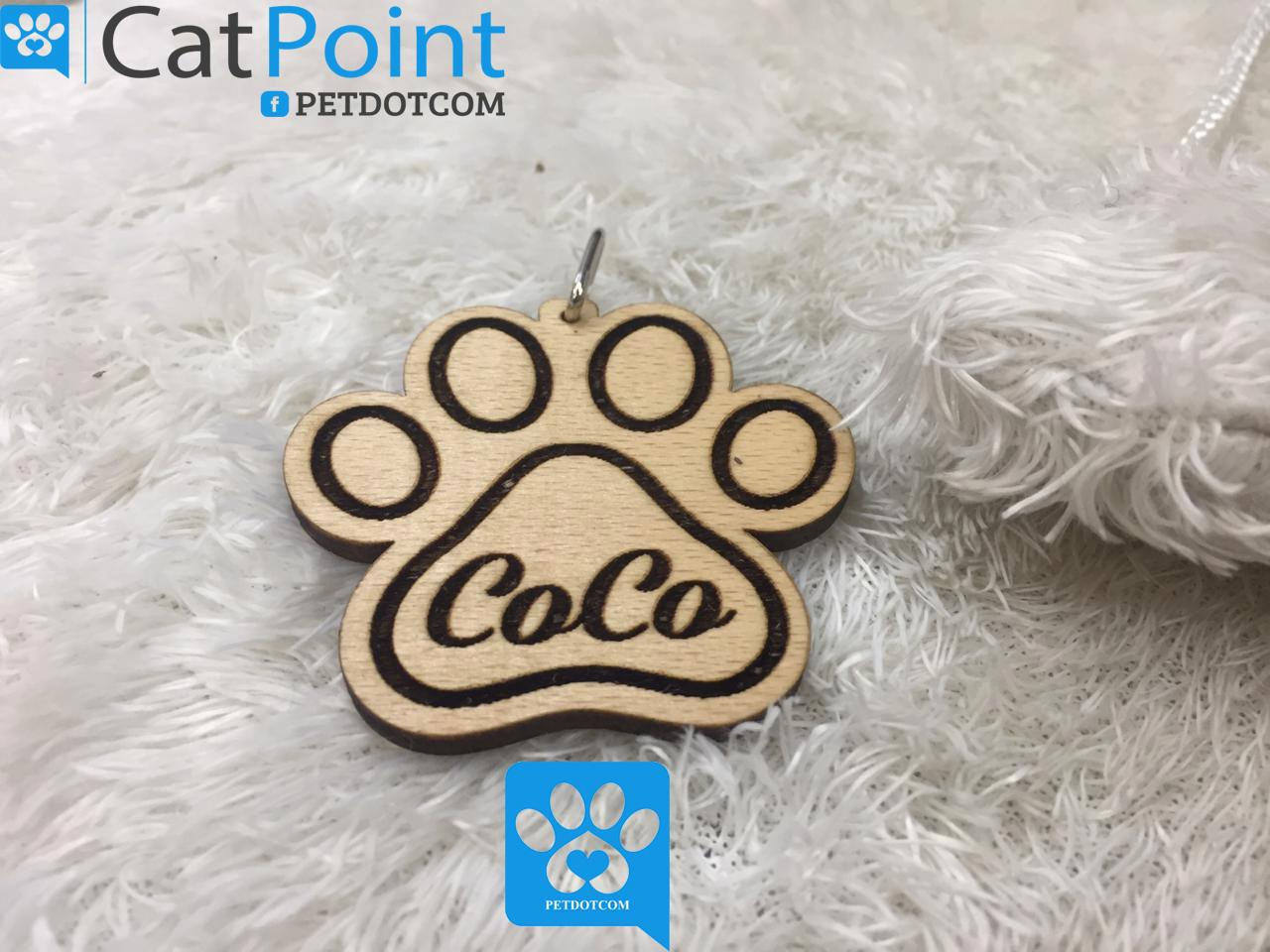 wooden cat and dog collar!