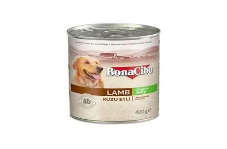 Bonacibo Wet Food for Dogs in Can – Lamb Meat in J!