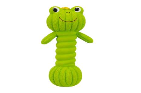Trixie Dumbbell Frog for Dogs!