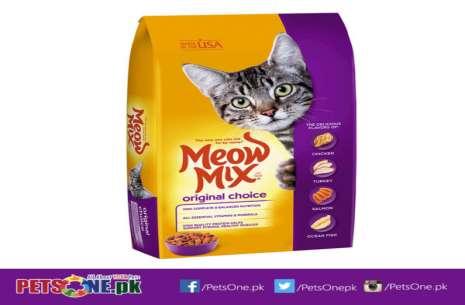 Meow Mix Original Choice Dry Cat Food 500g!