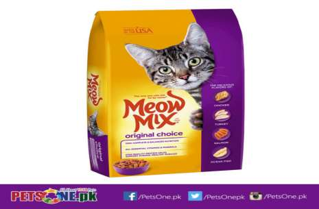 Meow Mix Original Choice Dry Cat Food 1.5 kg!