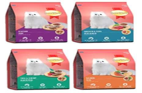 Smartheart Cat Food Tuna Chicken / Tuna Shrimp / S!