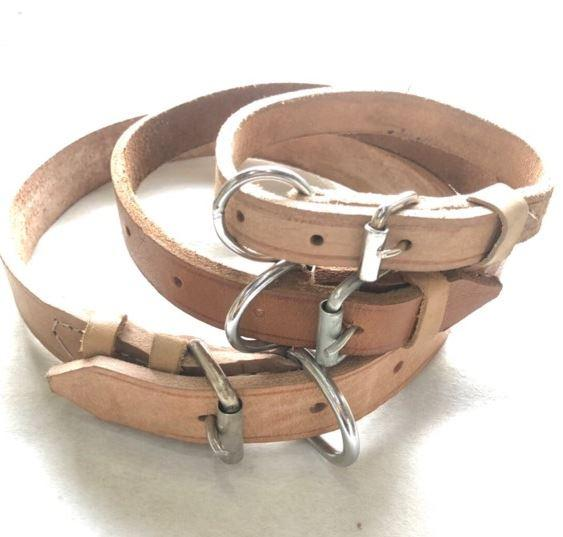 leather collar for dog!