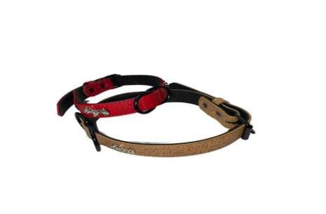 Dog Collar with Dog Emblem!