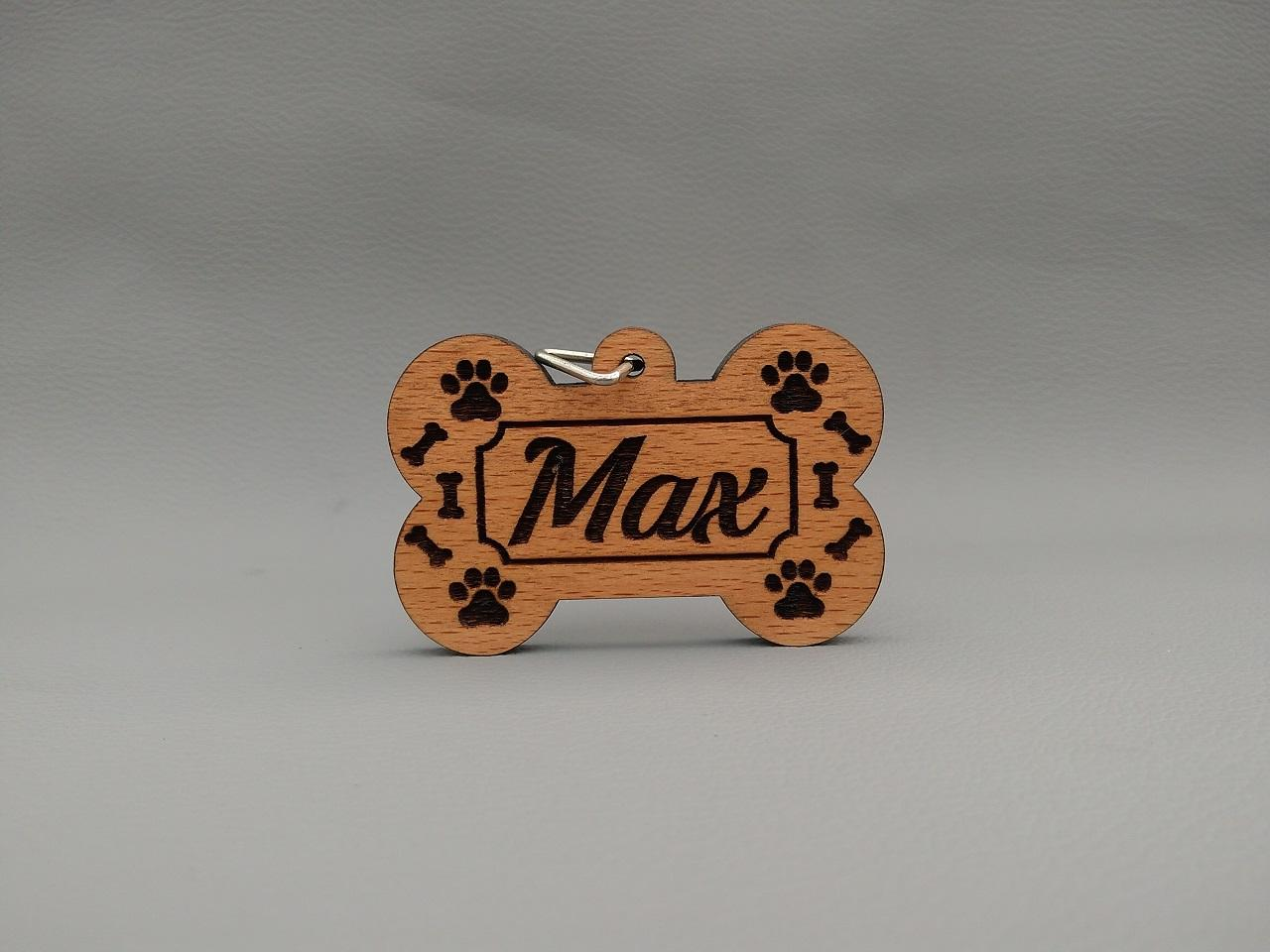 collar tag for dog!