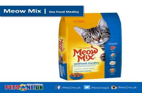 Meow Mix Sea Food Medley 1.5 kg!