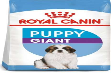 Royal Canin Giant Puppy!