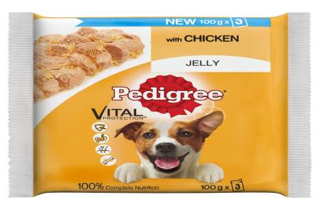 Pedigree Wet Food Pouches Pack of 3!