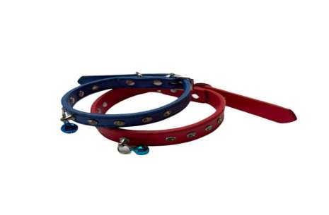 Bell Collar for Puppies / Diamonds On Dog Collar!
