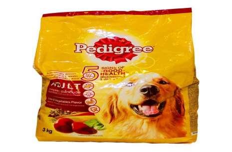 Pedigree Dog Food Adult Liver & Vegetable!