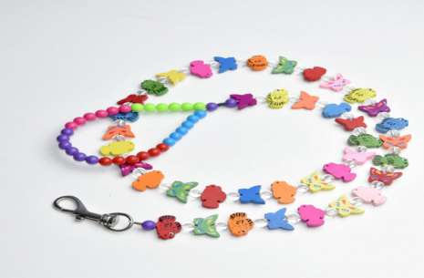Leash for Cats and Dogs / Butterflies String Beade!