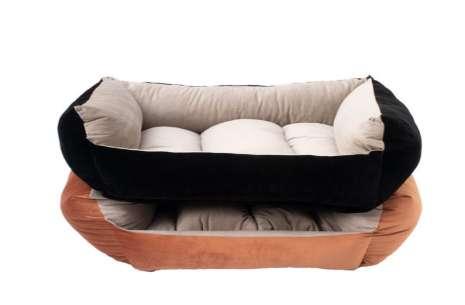 Cozy Cat Bed / Brown Black Cat Dog Bed!