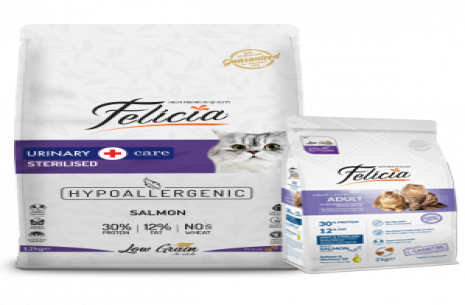 Felicia Low Grain Sterilized Urinary Cat Food With!