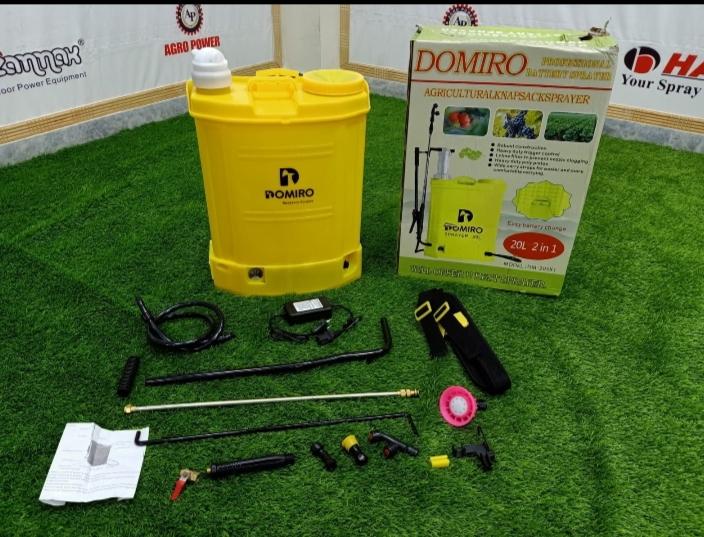 Domiro 2 in 1 Battery Sprayer!