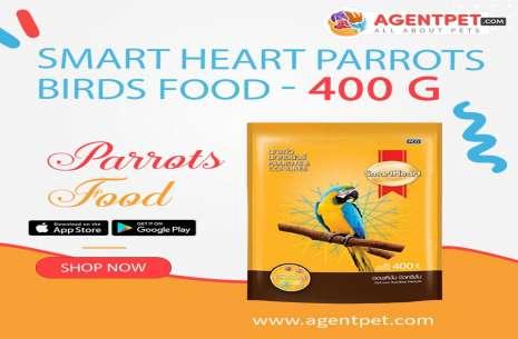 Smart Heart Parrots Birds Food!