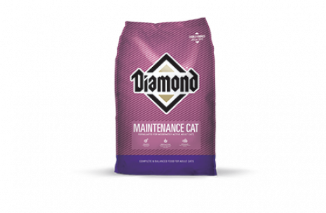 Diamond MAINTENANCE CAT Food!