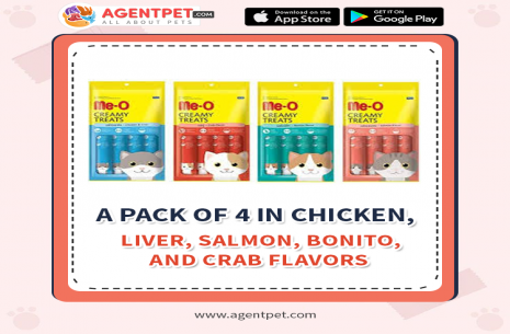 Me-O Cat Food Tin Food Sardine / Seafood / Tuna!