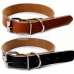 deluxe-leather-dog-collar-natural-for-dogs-and-pup!