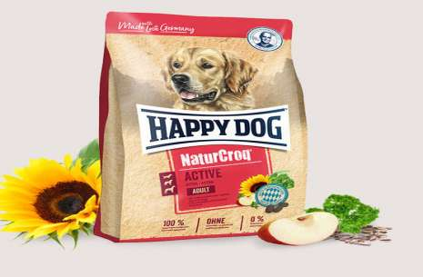 Happy Dog Natur-Croq for Puppies - 15Kg!