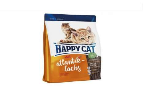Happy Cat Food Atlantic Salmon!