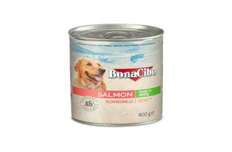Bonacibo Wet Food for Dogs in Can – Salmon Chunks !