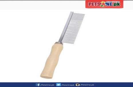 Wooden Pet Grooming Comb!