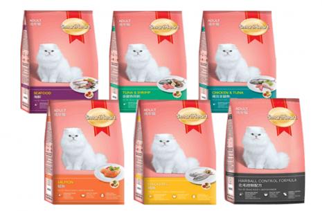 SmartHeart Adult Cat Food – Chicken & Tuna Flavor !