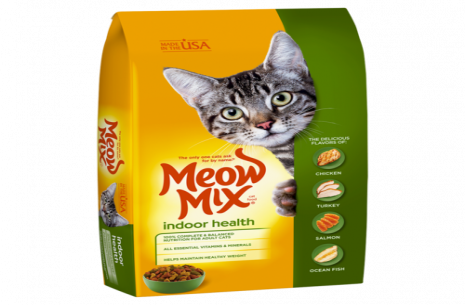 Meow Mix Indoor Cat Formula 6.5 kg!