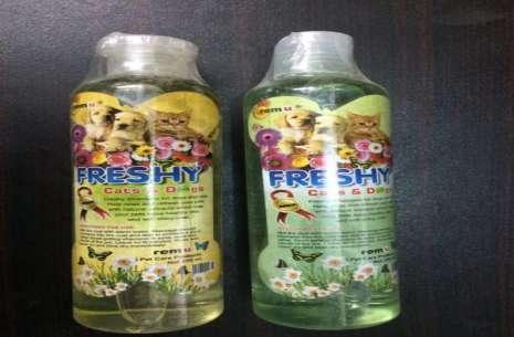 REMU FRESHY DOG & CAT SHAMPOO 300ML!
