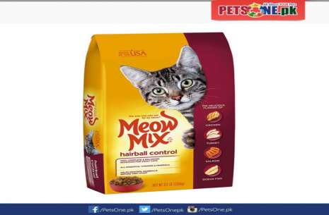 Meow Mix Hairball Control 3 kg!