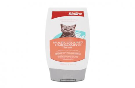Bioline Multi Colored Hair Cat Shampoo!