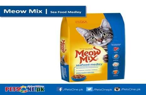 Meow Mix Sea Food Medley 500g!
