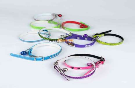 Soft Rubber Bell Collar for Cats!