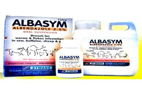 Albasym 2.5% – Oral 1 litre!
