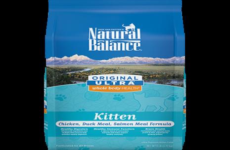 Natural Balance Kitten Food – Salmon n Duck – 1 KG!
